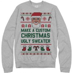 Custom Xmas Santa Ugly Sweater
