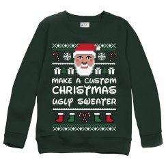 Custom Kids Ugly Christmas Sweater