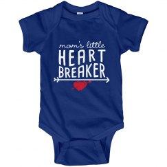 Mom's Little Heart Breaker - Onesie