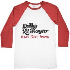 Custom Daddy's Little Monster