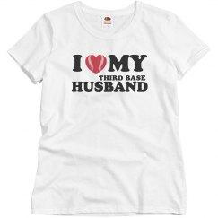 I love my third base husband