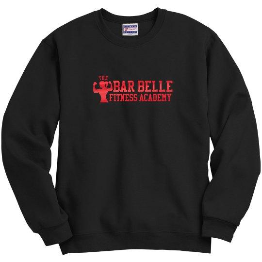 BBFA Crew neck red metallic letters