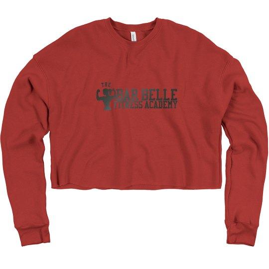 BBFA Red Crop w/ Gun metal logo
