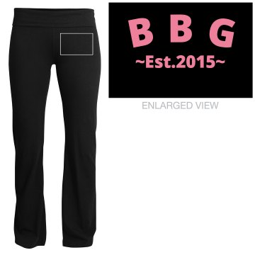 BBG YOGA PANTS