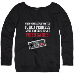 Play Video Games Sweatshrit