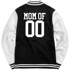 Proud Volleyball Mom Custom Jacket With Number