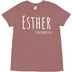 Esther four 14