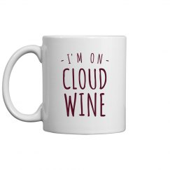 On Cloud Wine Mug