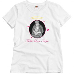 Faith Love Hope Shirts Color T-shirt