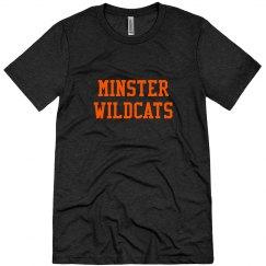 unisex triblend Minster Wildcats