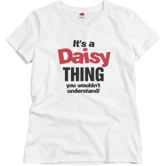It's a daisy thing