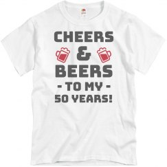 Cheers and Beers to 50!