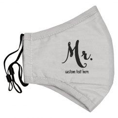 Matching Mr. & Mrs. Face Masks