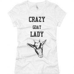 Crazy goat Lady