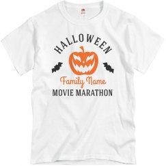 Halloween Family Movie Marathon Tees