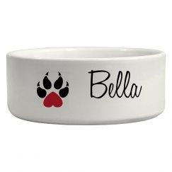 Bella dog bowl