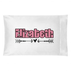 Elizabeth pillow case