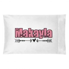 Makayla pillow case