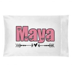 Maya pillow case