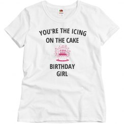 Your the icing birthday girl