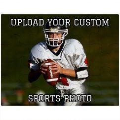 Custom Sports Photo Puzzle
