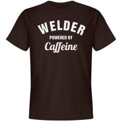 Welder powered by caffeine