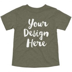 Your Design Here Toddler Triblend