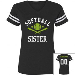 Custom Softball Sister Jersey