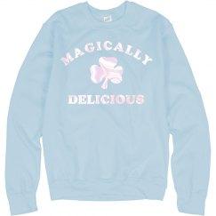 I Am Magically Delicious Metallic