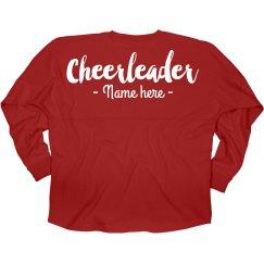 Custom Cheerleader Game Day Jersey