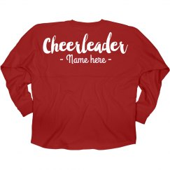 Custom Cheerleader Game Day Jersey