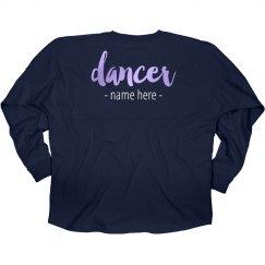 Custom Dancer Hooded Shirt