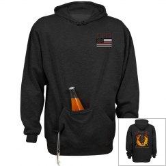 Clarkton FD Hoodie With beer holder
