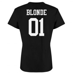 Blonde Best Friend Matching Tees