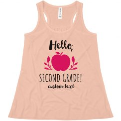 Hello, Second Grade Custom Tank