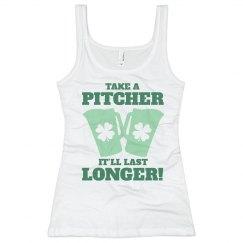 St Pat Bartender Take A Pitcher