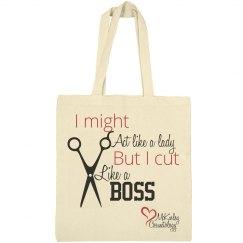 Cut Like a Boss Canvas