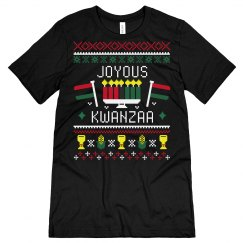Joyous Kwanzaa Ugly Sweater Tee