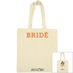 Bride large tote