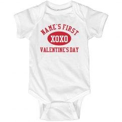 Custom Baby Valentine Onesie