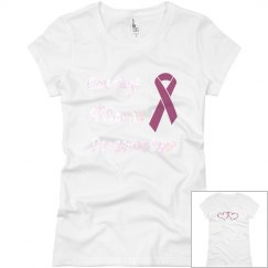 Courage Team-ladies slim fit crew