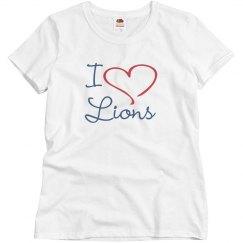 I Heart Lions Tee