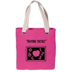 School tote bag