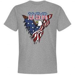 Patriotic American Eagle T-Shirt