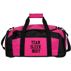 team sleek body gym bag
