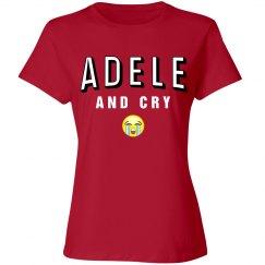 Hello Sad Adele Shirt