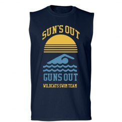 Custom Swim Team Sleeveless Tee
