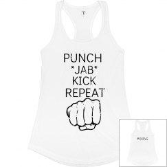 Punch Jab Kick Repeat