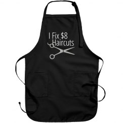 I fix cheap haircuts salon apron