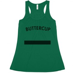 Best Friends Green Puff Tank